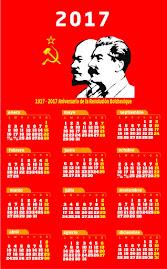 Calendario comunista 2017