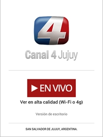 Canal 4 Jujuy en vivo
