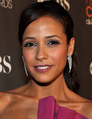 Dania Ramirez Dangling Diamond Earrings