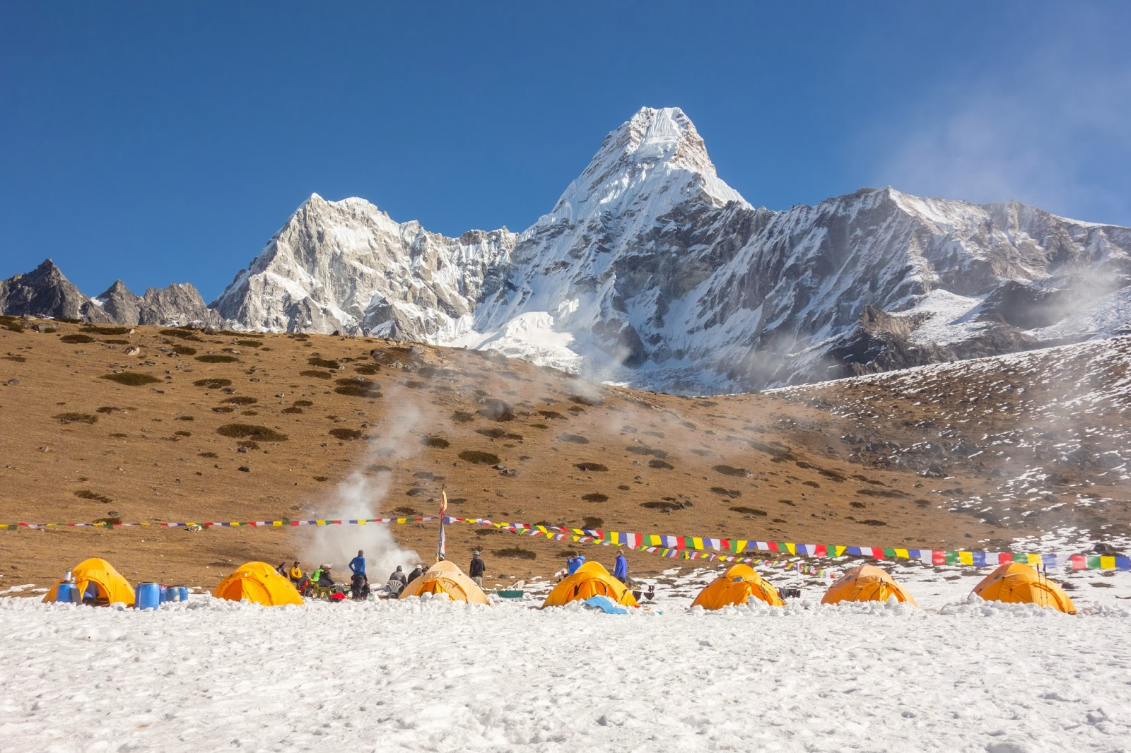 Ama Dablam Base Camp PujaAma Dablam Base Camp