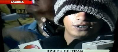 Joseph Beltran UPLB Murder Suspect