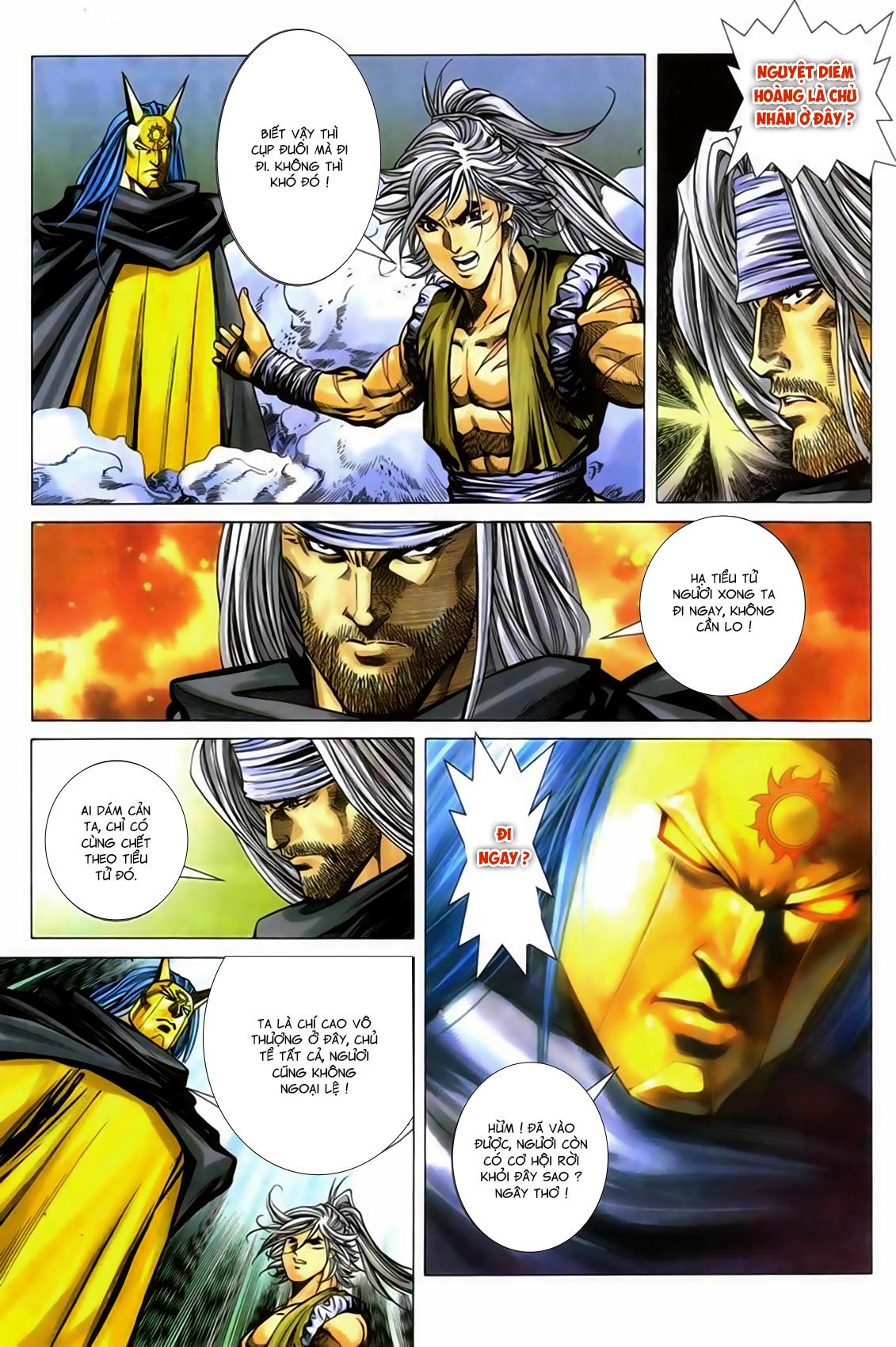 Song Hùng Kỳ Hiệp Chap 277 - Trang 11