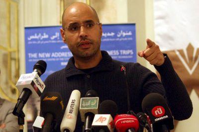 Saif al Islam Gaddafi es reconocido como el nuevo líder libio