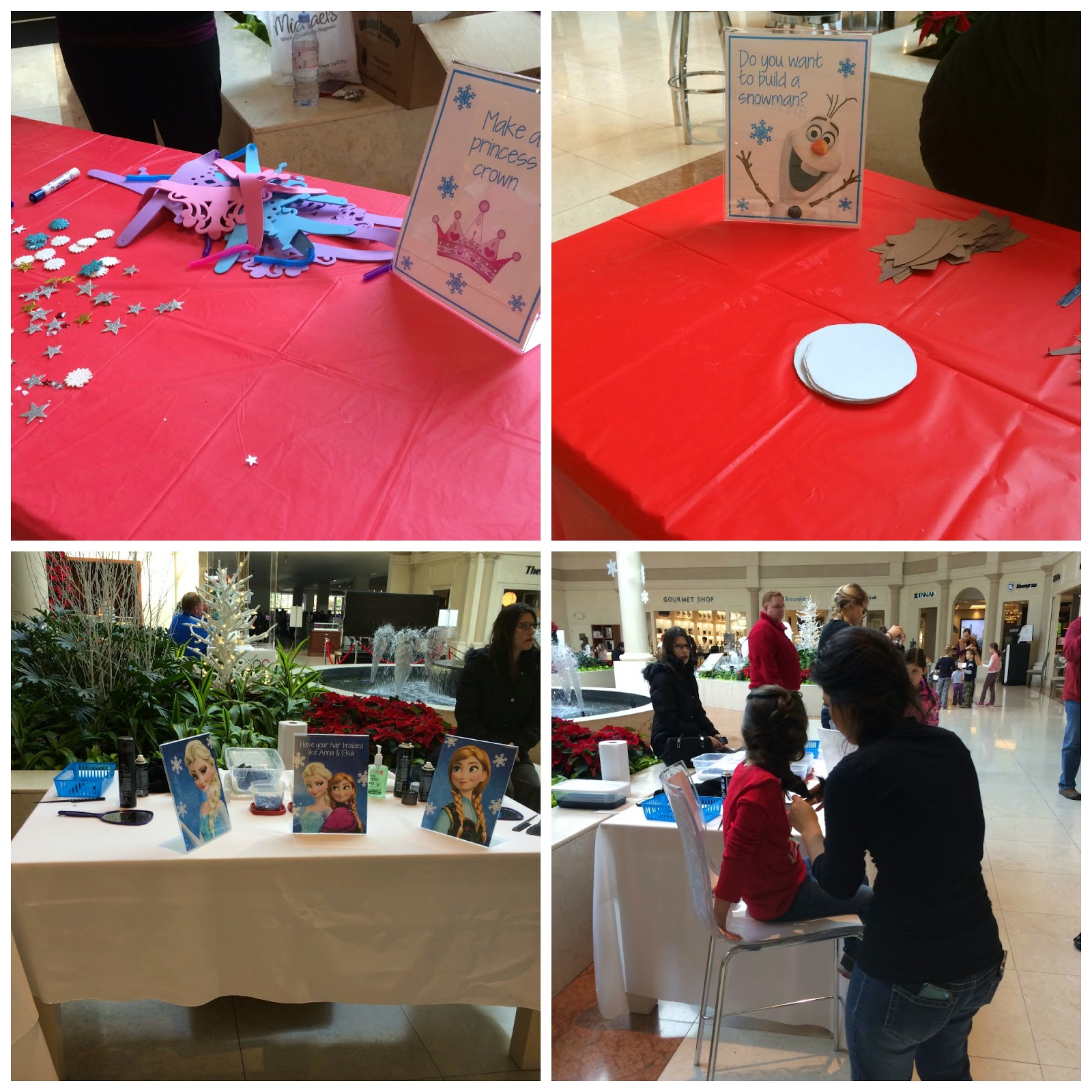 Frozen-themed fun at Abt in Glenview