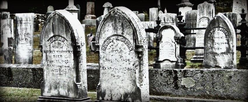 Graveyard in NH - Halloween New England