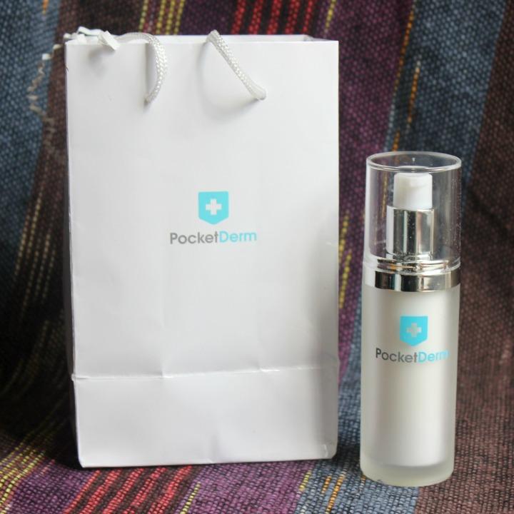 PocketDerm Bottle Packaging Bag