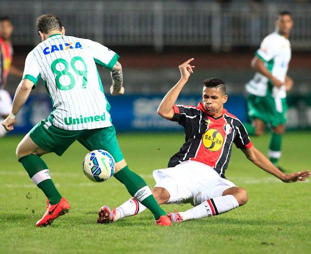 Clássico catarinense não empolgou e acabou sem gols (Foto: Divulgação/JEC)