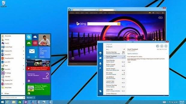 Windows 9'u güncellemek çok kolay