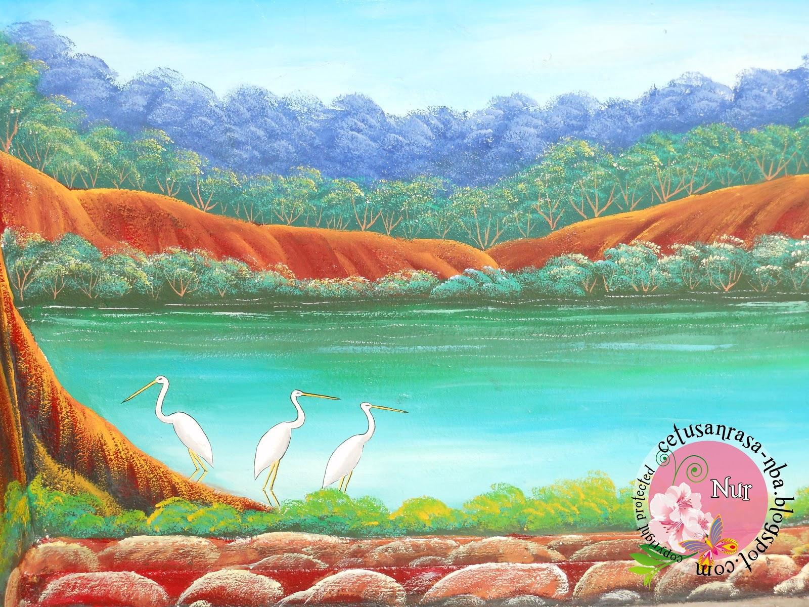 Cetusan rasa cantiknya lukisan mural ni for Mural kartun
