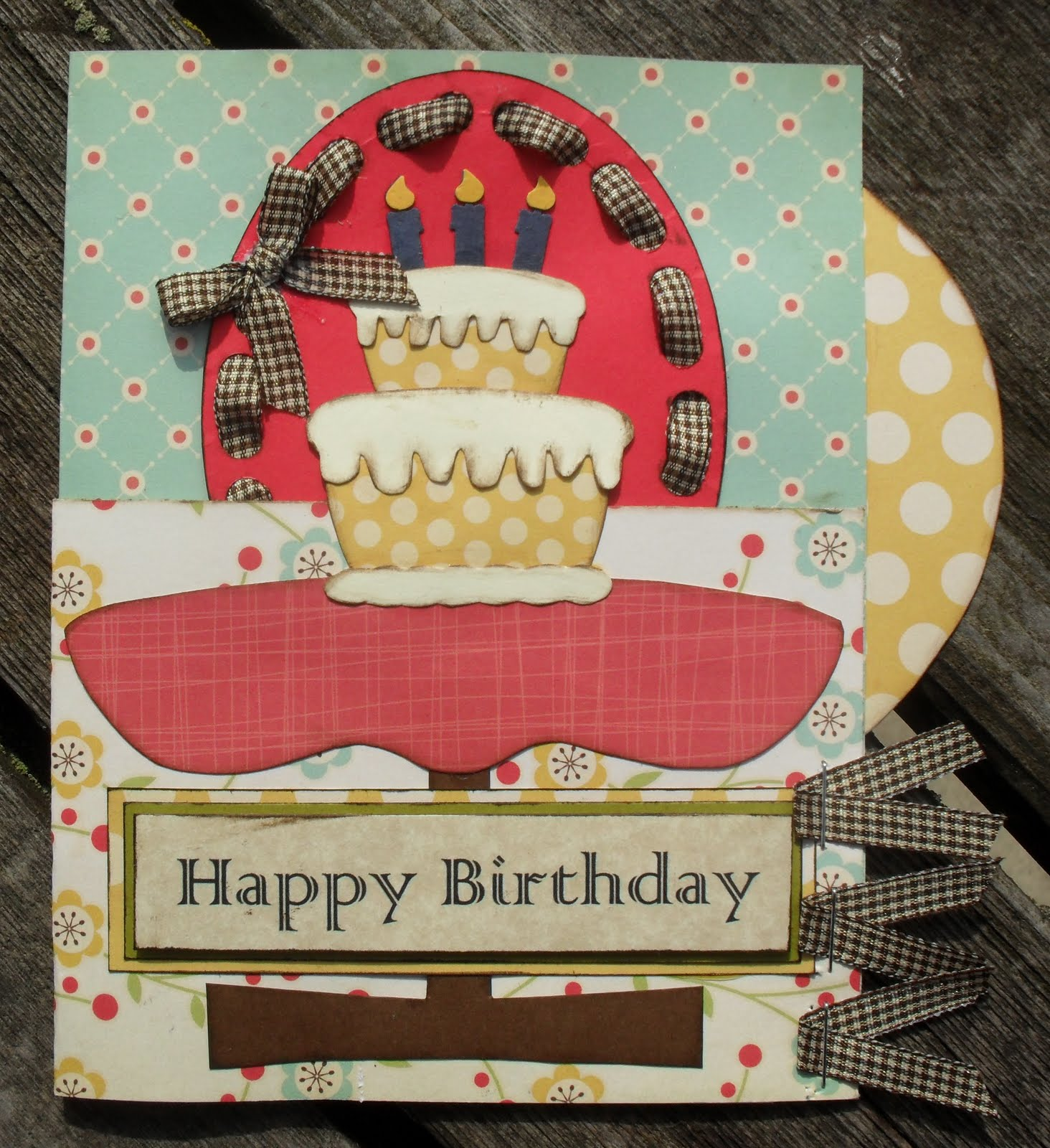 Celebrating ordinary moments happy birthday vintage card happy birthday vintage card bookmarktalkfo Image collections