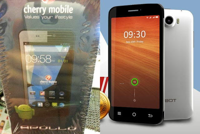 Cherry Mobile Apollo and its OEM Cubot GT99