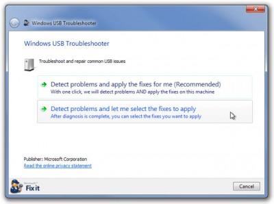 Disable Fasilitas Power Management of The USB Root Hub
