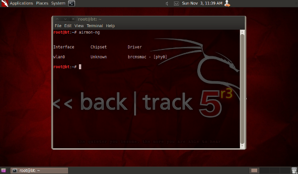 how to hack wifi using backtrack 5