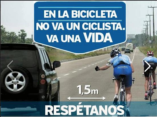 En una bicicleta va una vida...