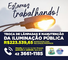 Porto Barreiro - R$223MIL em Manutenção Iluminação Pública