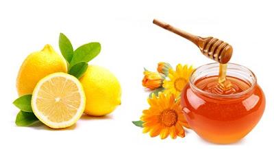 masker lemon madu