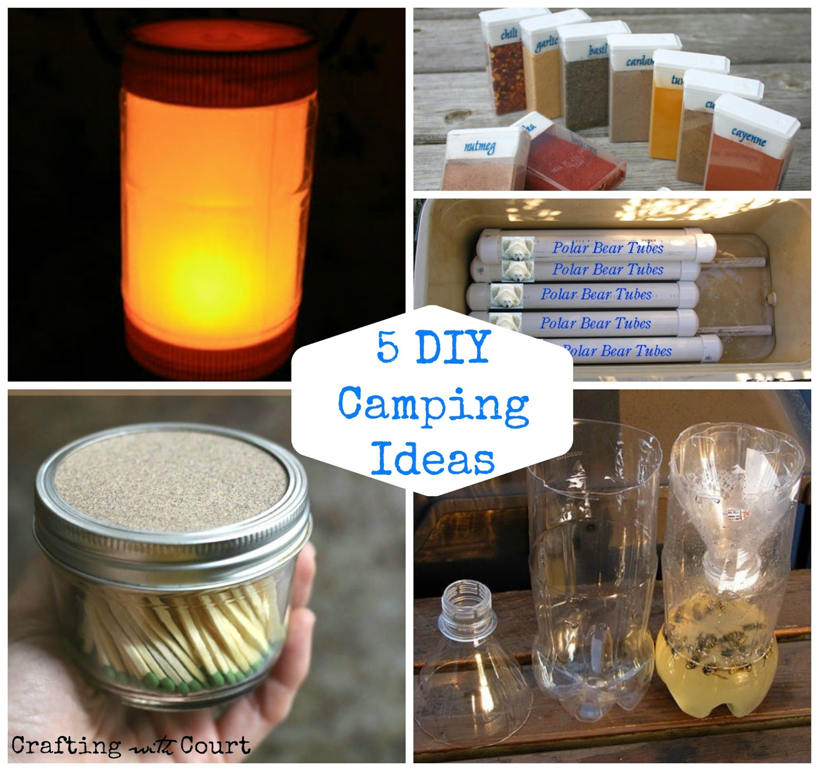 5 DIY Camping Ideas