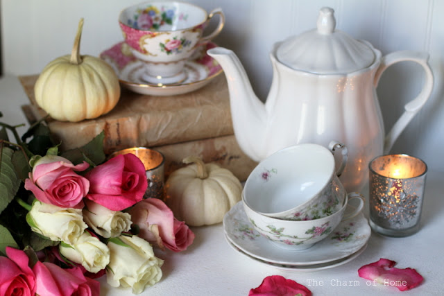 A Pink Tea for October: The Charm of Home