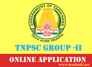 TNPSC Group 2 Online Application 2013