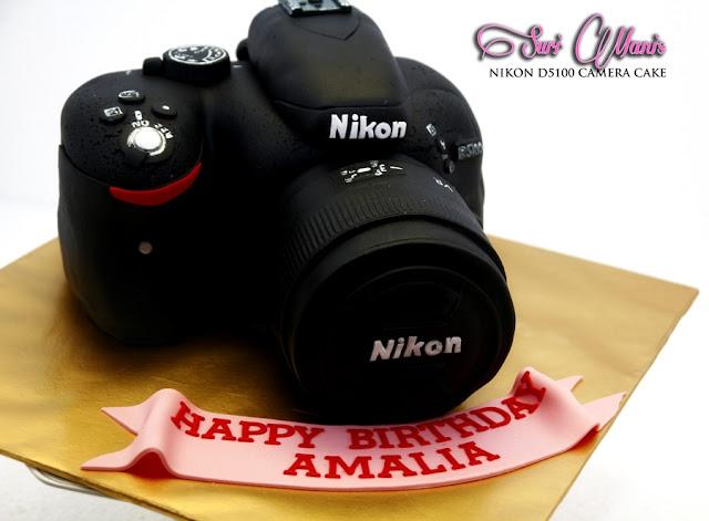 Nikon Camera Cake Images : Suri Manis: Sweet Nikon D5100 Camera Cake