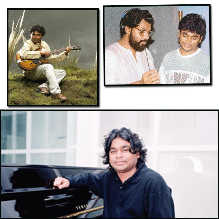 AR Rahman Rare stills