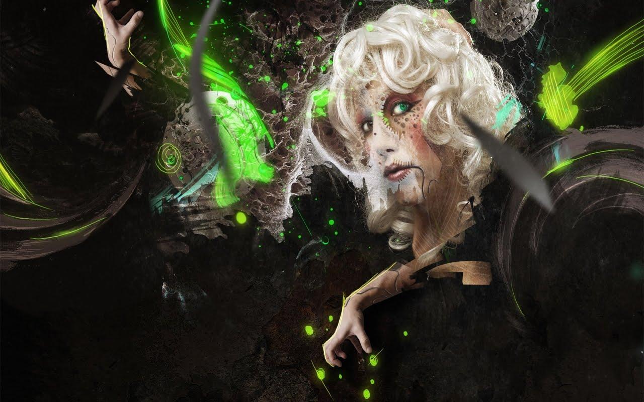 Abstract 3D Woman, HD Wallpaper