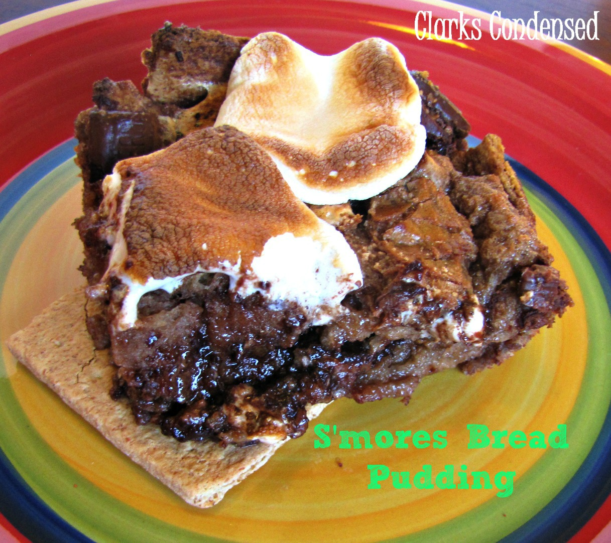 pudding campfire s mores bread pudding great harvest bread pudding i ...
