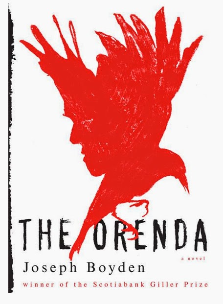 http://www.amazon.com/Orenda-Joseph-Boyden-ebook/dp/B00GQAIE4W/ref=sr_1_1?s=books&ie=UTF8&qid=1406587245&sr=1-1&keywords=the+orenda
