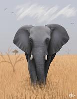 Bamboo Elephant