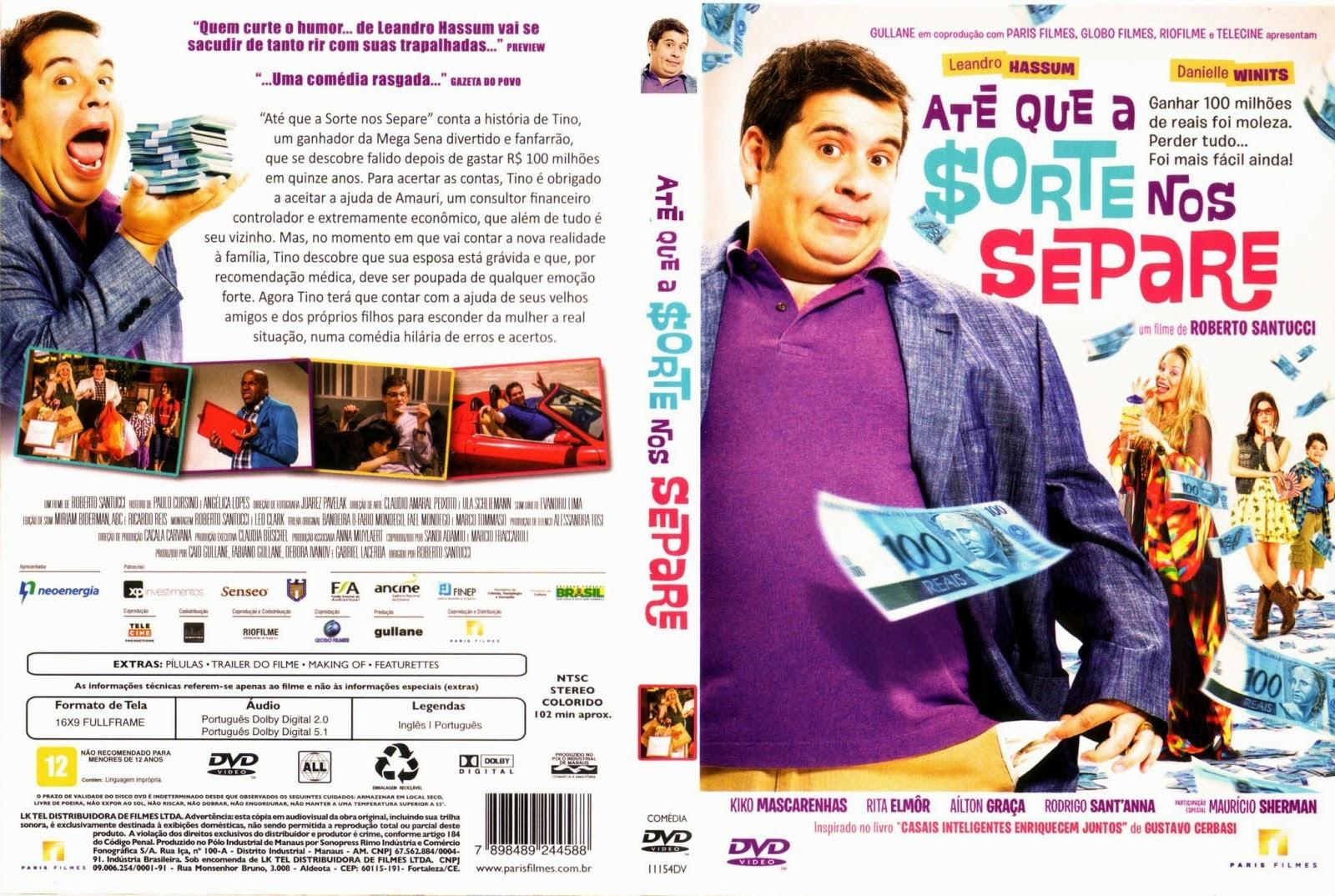 Até Que A Sorte Nos Separe DVD Capa