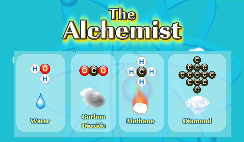 The Alchemist (Educational Game to learn basics of Chemistry in Fun Game)