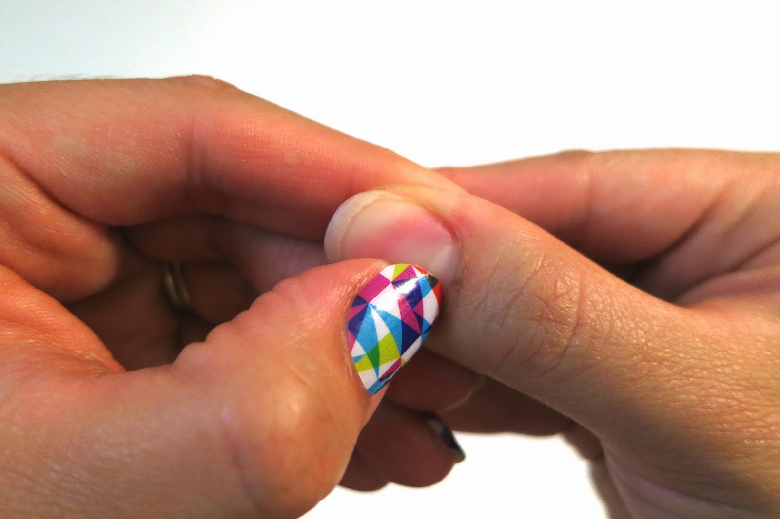 Mommyscape: [Nails] Jamberry: Taking care of your nails before ...