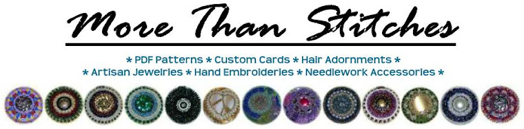 More Than Stitches: Jewelry, Embroidery, etc.