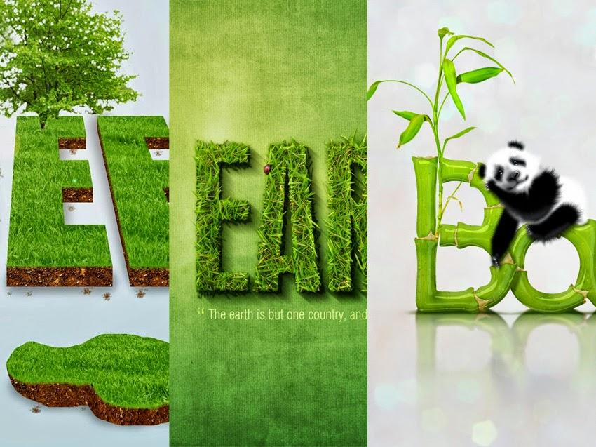 9 tutorial teks efek green di photoshop