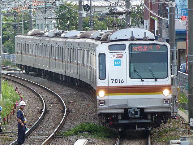 東急東横線 特急 渋谷行き 7000系
