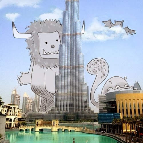 04-Burj-Khalifah-in-Dubai-Cheryl-H-The-Dreaming-Clouds-Drawings-www-designstack-co