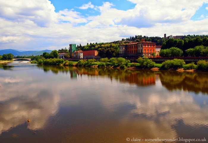 the River Arno - Florence, Italy