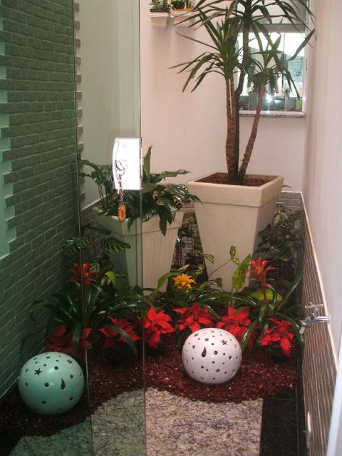 decorar jardim pequeno:Postado por Arlane França às 04:41
