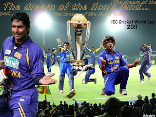 Best of Luck to Sri Lanka Cricket Team on World Cup Finals-2011!