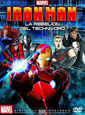 Iron Man: La Rebelión Del Technivoro (2013)