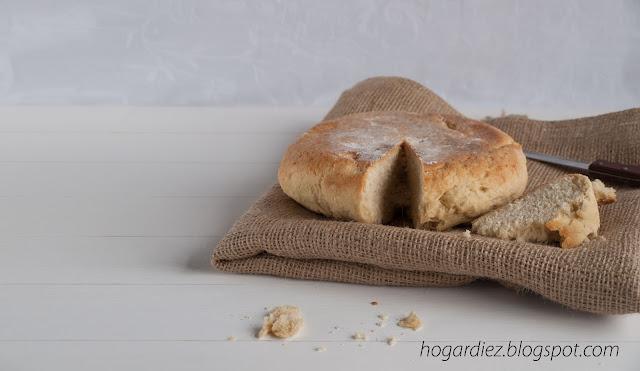 Pan blanco casero
