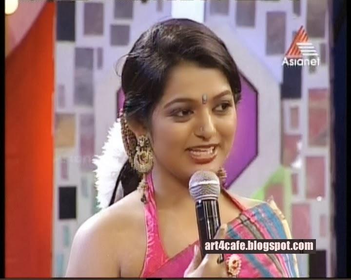 Hot Anchor Meera Meera Anil Anchors Famous