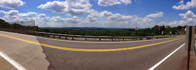 Panormaic view of Mountain Top, PA