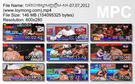 CTN Comedy - Jong Ban Snam Nhor Nheum (08.07.2012)