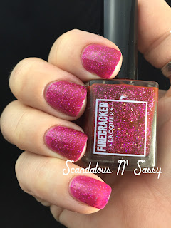 Firecracker Lacquer Girl Fight