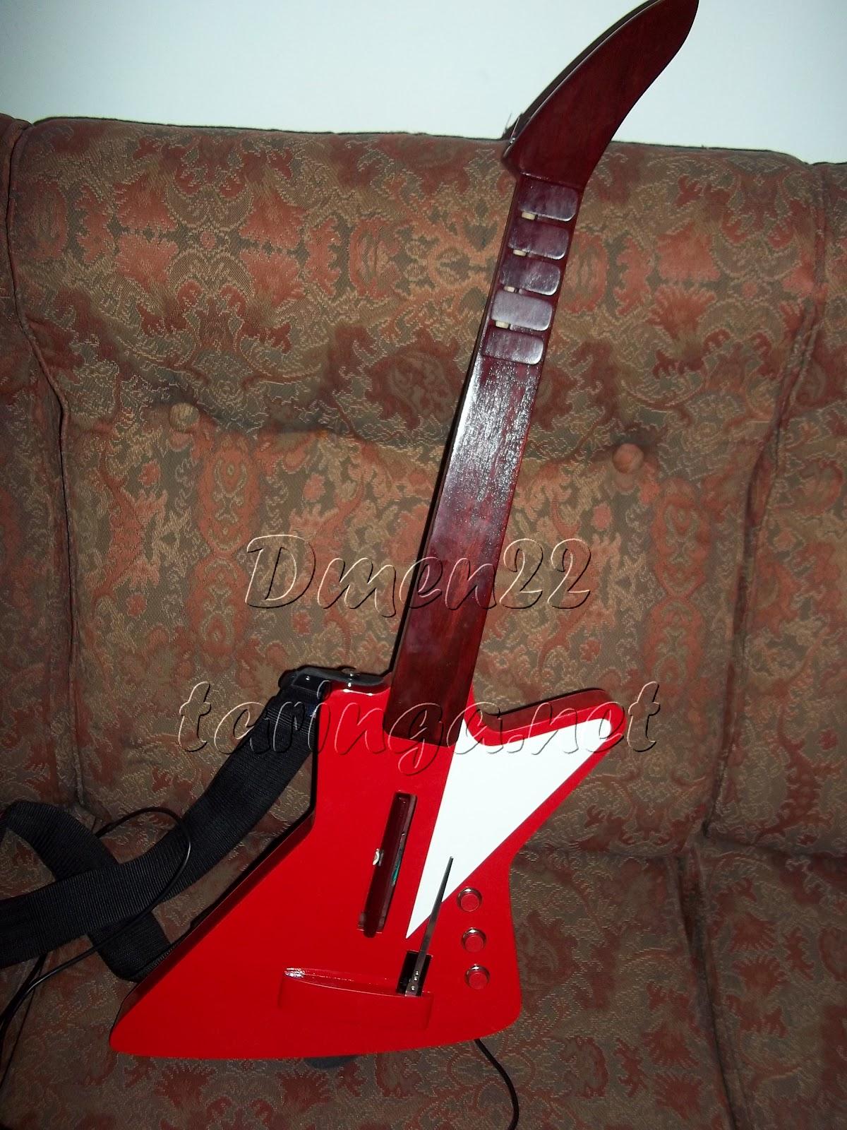 Hice Guitarra para Guitar Hero y Te Lo Muestro!