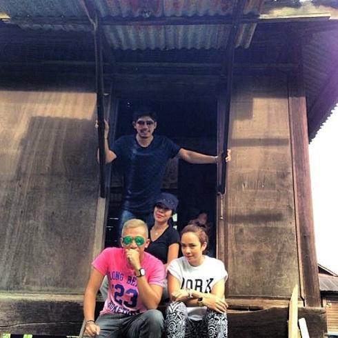 Nora+Danish+dan+Nadeem+5 Gambar Percintaan Nora Danish Dan Nadeem Di Thailand