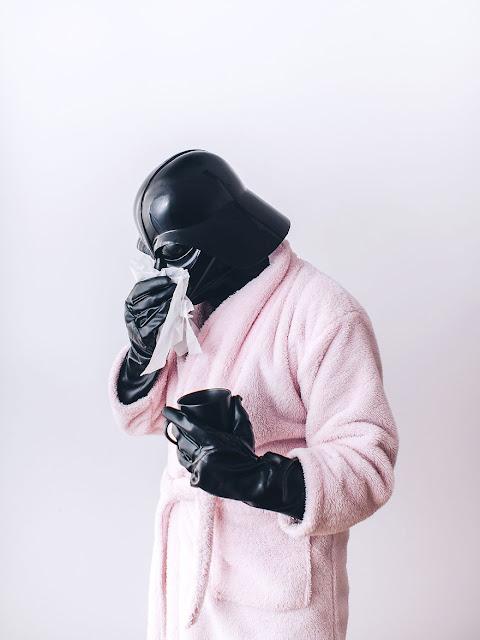 Darth Vader с астма