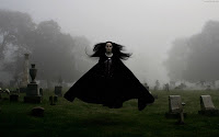 Flying Goth Woman | Dark Gothic Wallpapers