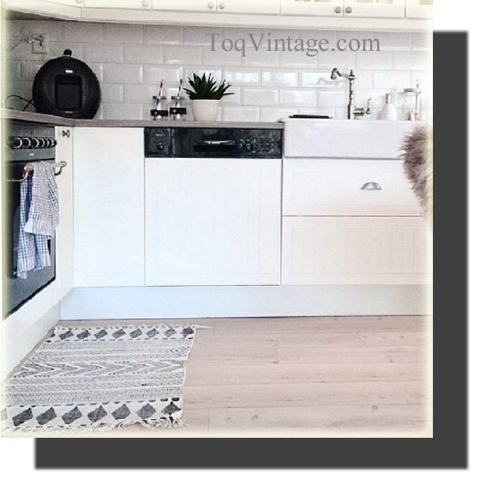 Toqvintage las alfombras for Alfombras de cocina